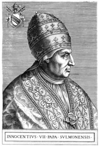 pope gregory vii and pope innocent Together with gregory vii, he was one of the two most important popes of the  middle ages in his efforts to promote christianity and defend it from its enemies, .
